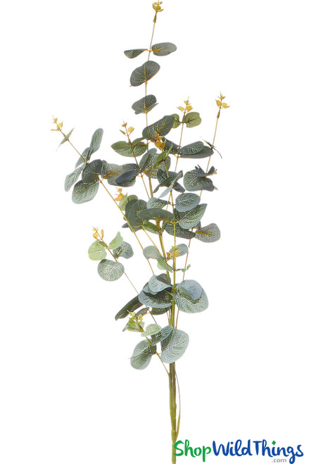 Tall eucalyptus stems, faux bendable greenery branches  | ShopWildThings.com