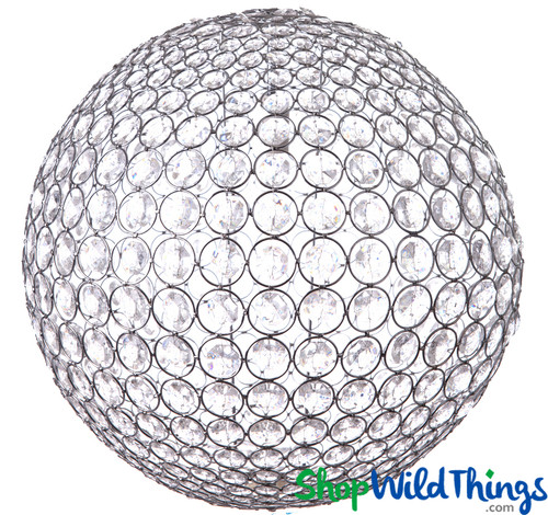 """Chandelier """"Ayanna"""" Sphere - Large 20"""" Diameter (Or Use On Tables!) - Transformers 3 Movie!"""