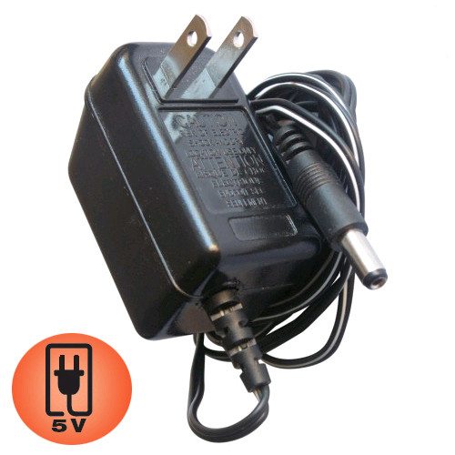 AC Adapter - 5V - For Compatible Acolyte Event Lighting