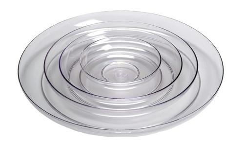 "Lomey Designer Dish Clear 9"" Centerpiece Builder"