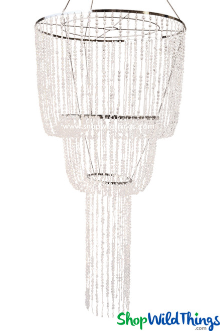 Chandelier Arabella Cascade - Crystal Iridescent - 5.5' Long