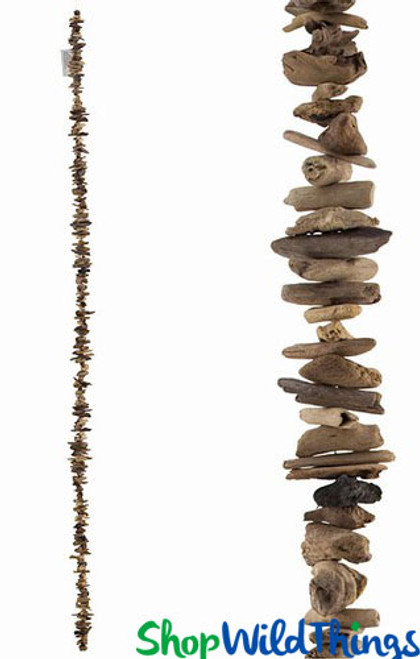 """Natural and Rustic Driftwood Garland 