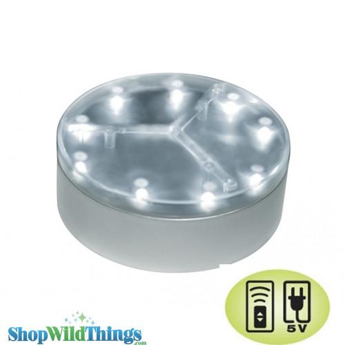 "Acolyte E-Mini 4""  Luminator Battery Operated Under-Vase Light - Remote Control Compatible"
