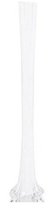 "Eiffel Tower Vase - White - 20"" - Set of 12"