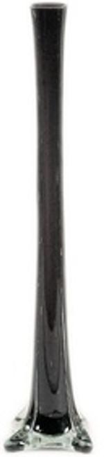 "Eiffel Tower Vase - Black - 20"" - Set of 12"