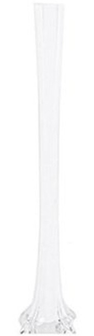 "Eiffel Tower Vases - White - 16"" - Set of 12"
