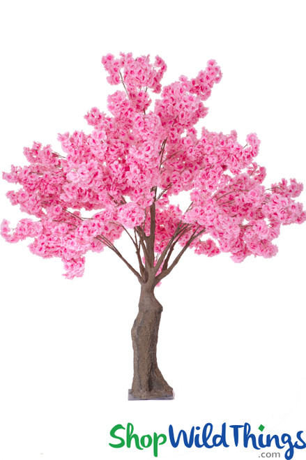 Flowering Artificial Dogwood Tree Extra-Full - Over 6' Tall - Pink