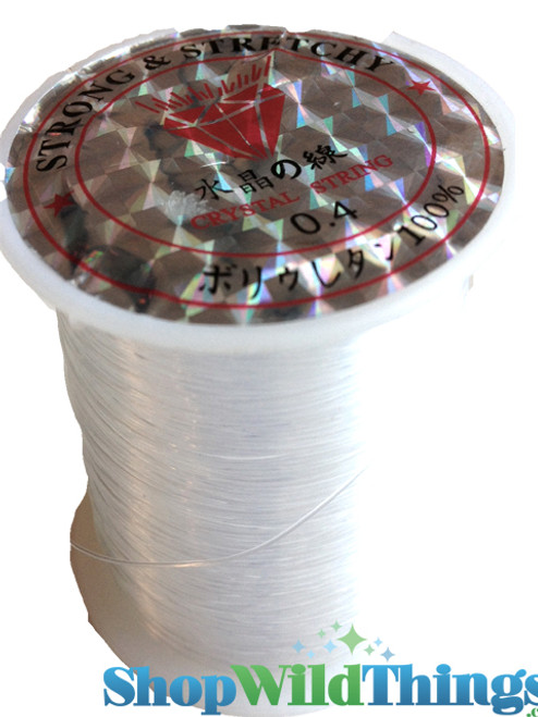 """Fishing Line"" Crystal String for Projects - 72 Yards"