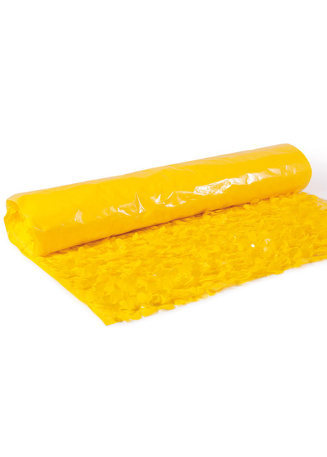 Floral Fabric Sheeting IFR - Yellow - 3 ft x 30 ft Roll