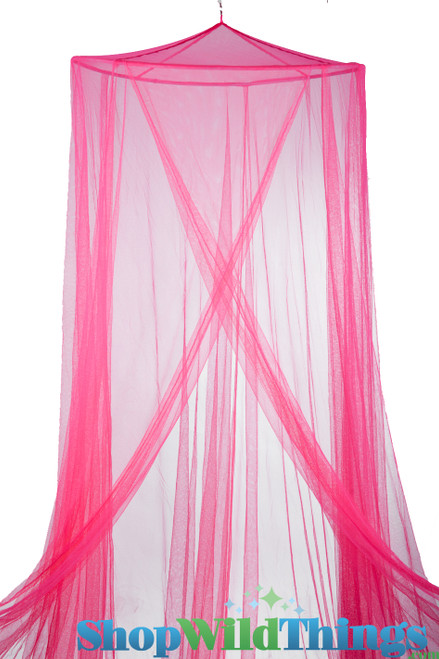 "Canopy ""Megan"" Fuchsia Mosquito Nets Canopies"