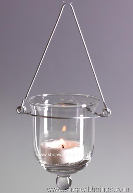 "Hanging Glass Votive or Tealight Holder ""Marleigh"""