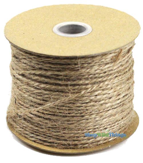 BOGO Natural Jute Cord 100 Yard Roll - 1.5 MM