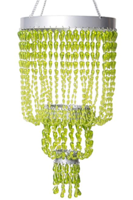 Chandelier Raindrops - Green Non-Iridescent