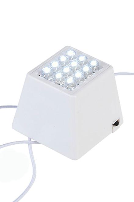 Lantern Lighting - White 12 LED Cube Light