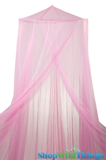 """BOGO Canopy """"Megan"""" Pink  Mosquito Nets Canopies"""