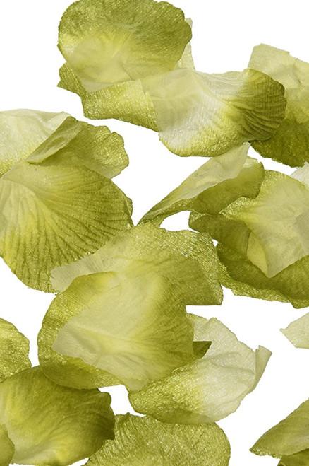 Silk Rose Petals - Sage Green Two Toned- Bag of 400 pcs