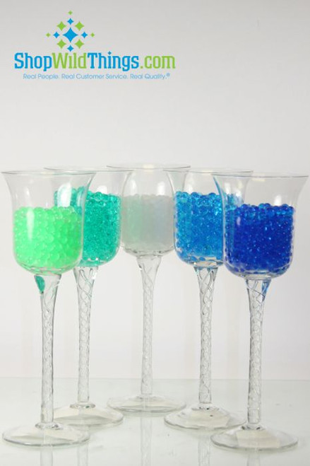 Water Pearls - Jelly Decor - Water Crystal Beads - Small Beads - Makes 1.5 Gallons (10 Colors Available)