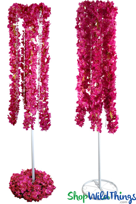 "Floral Centerpiece Riser Kit 34-60"" Tall - 8 Flower Choices!"
