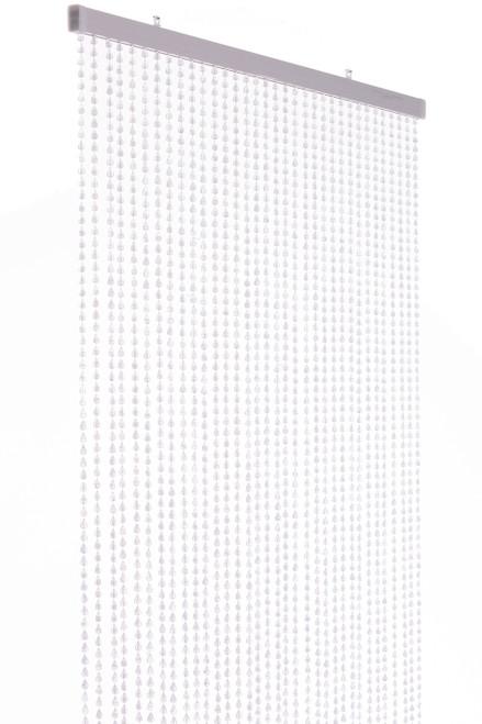 """Acrylic Beaded Curtain """"Berlin"""" Clear 35 1/2"""" x 78"""" (6.5') - 34 Strands"""
