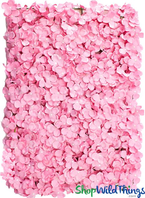 "Flower Wall Silk Plumeria Frangipani 17"" x 24"" - Pink - BUY MORE, SAVE MORE!"