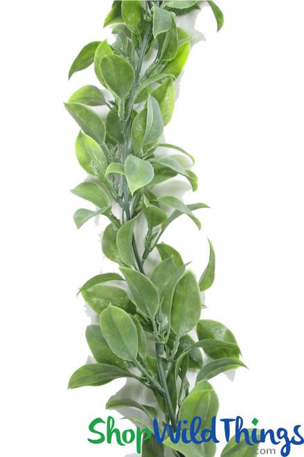 Greenery Garland - Flexible Osmanthus Leaf Vine 5.5Feet