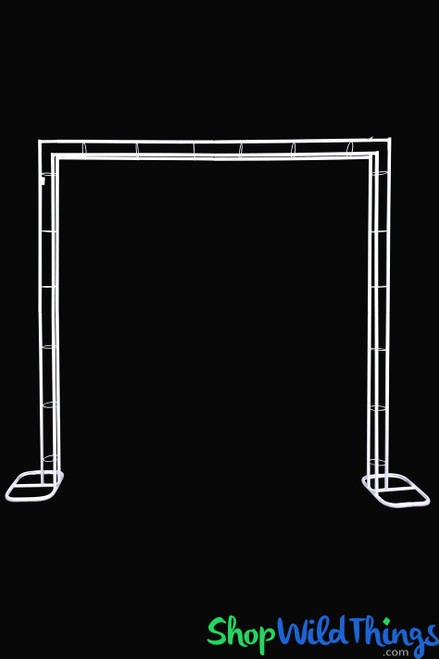 """Metal Square Shape Wedding Arch """"Marquee"""" - 7.5'H x 7.5' W"""