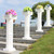"Roman Pillar Column Stand & Floral Riser - Adjustable - 37"" Tall"