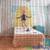 Boho beaded curtain | Rainbow wooden bead curtain | ShopWildThings.com
