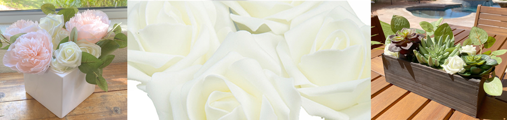 Foam Decorative Flowers - ShopWildThings