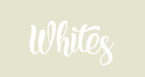 white clear ivory decor