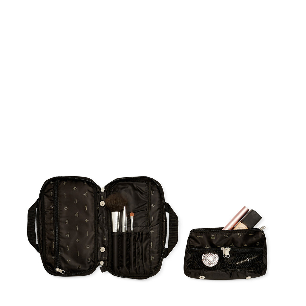 make up bag black