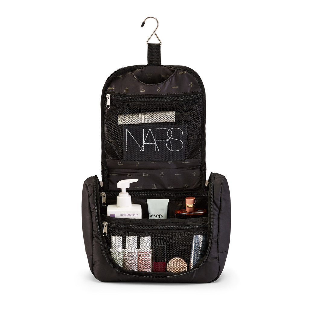 toiletry organiser (large) black