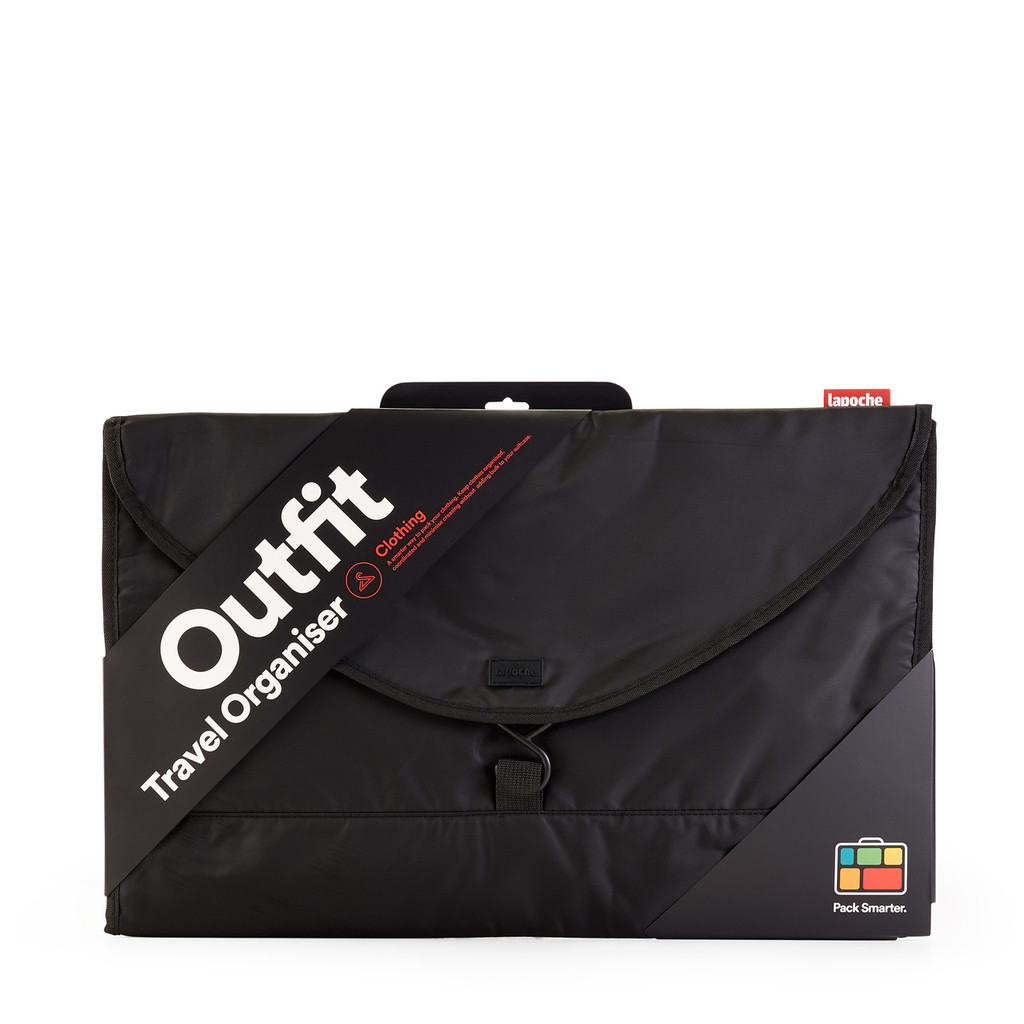 outfit organiser black