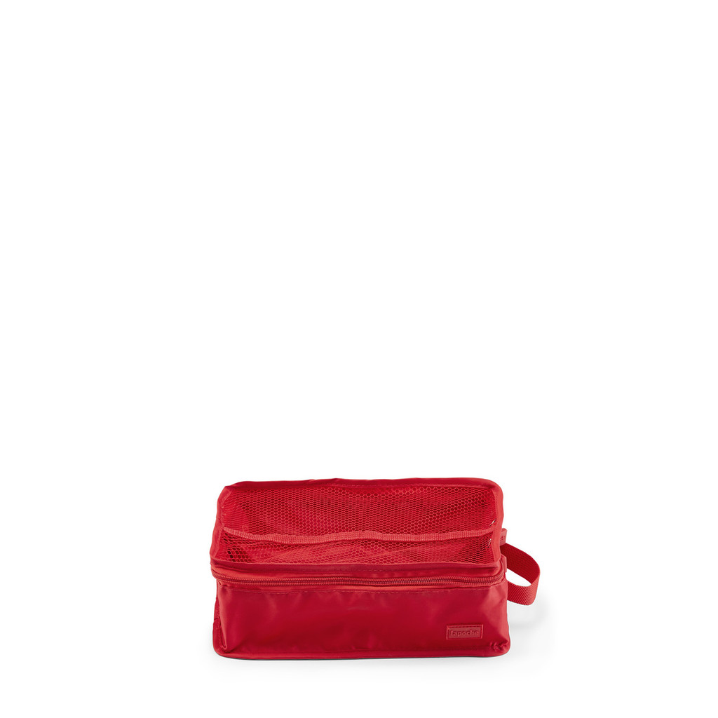 socks & jocks tote red