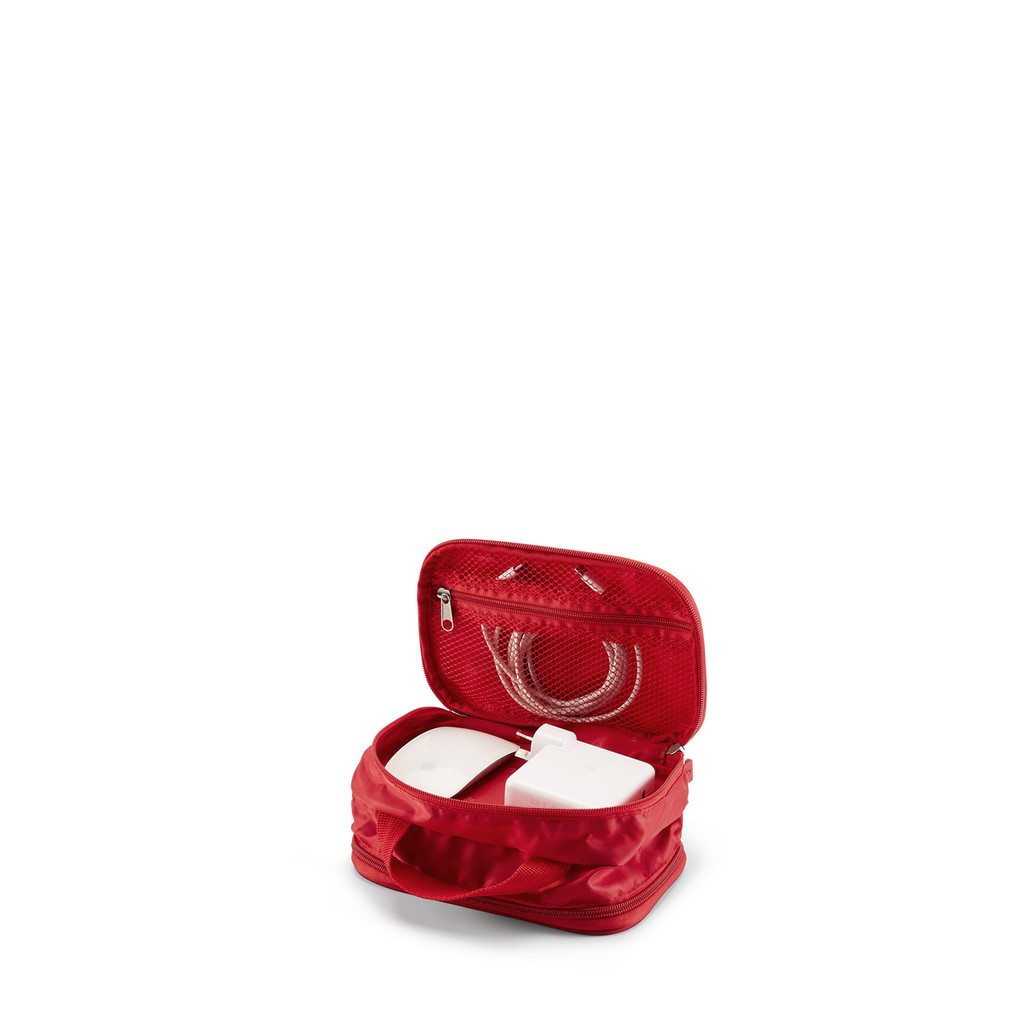 charger bag red