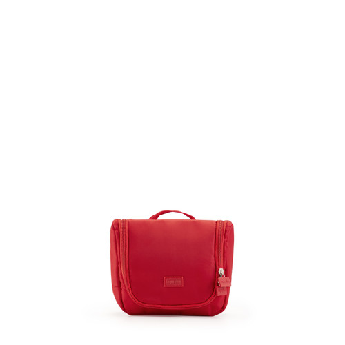 toiletry organiser (small) red
