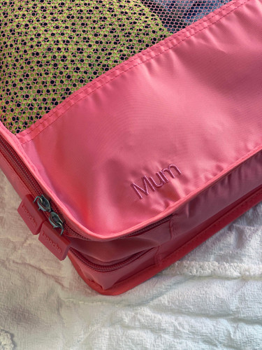 Personalised Garment Cube & Make Up Bag Pack