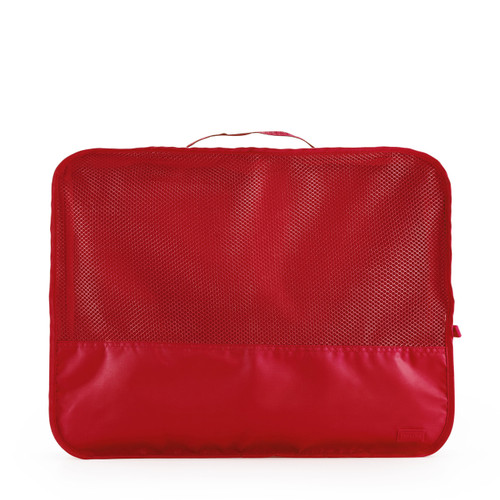 luggage organiser (large) red