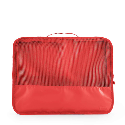 luggage organiser (large) blush