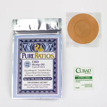 Pure Ratios-Topical Hemp Patch (40MG CBD)