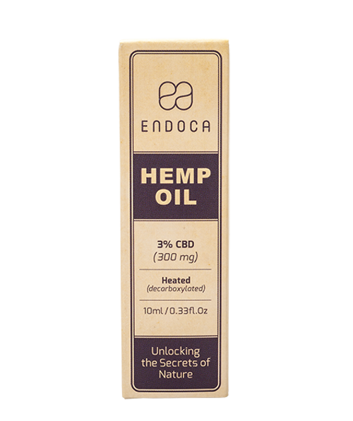 Endoca Hemp Oil Drops (300MG CBD)