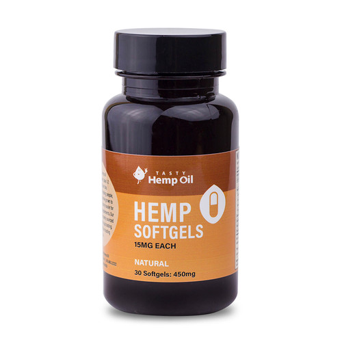 Tasty Hemp Oil - Hemp Softgels (450MG CBD)