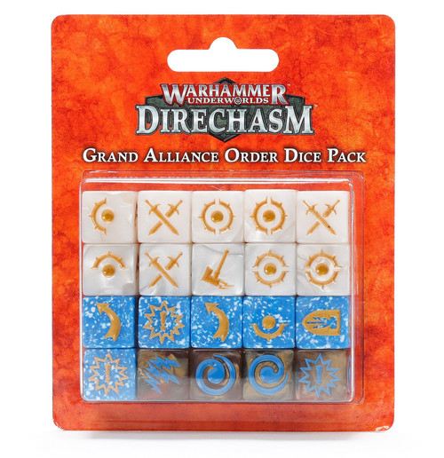 WHU: GRAND ALLIANCE ORDER DICE PACK