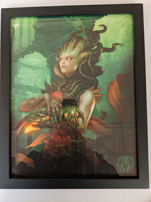Ravnica Weekend Poster - Framed - Vraska