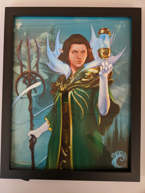 Ravnica Weekend Poster - Framed - Vannifar