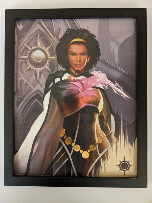 Ravnica Weekend Poster - Framed - Kaya
