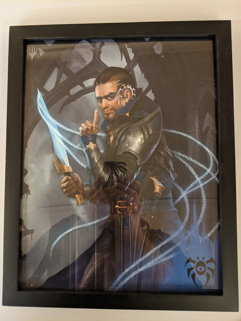 Ravnica Weekend Poster - Framed - Dimir Assassin