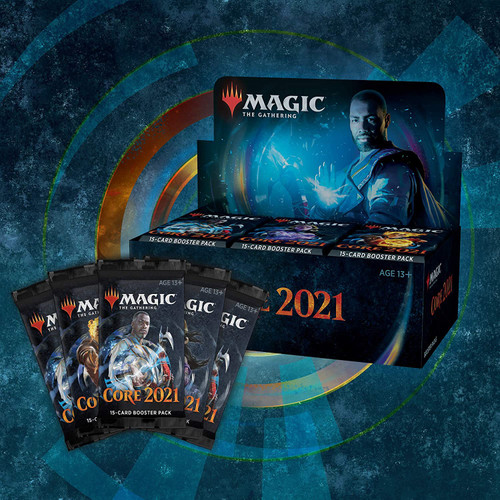 MTG: Core Set 2021 Draft Booster CDU