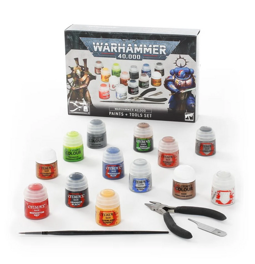 40K Paints and Tools