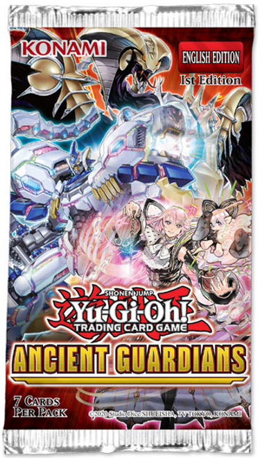 YGO TCG Ancient Guardians Booster